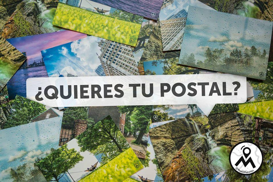 Postales Mapa de Momentos conmisojos