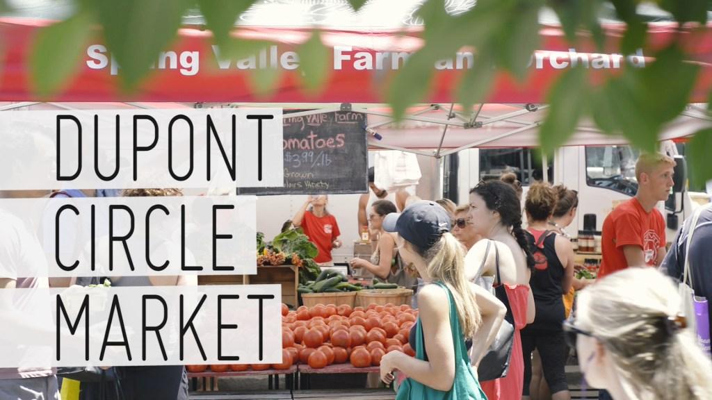 Dupon Circle Farmers Market Mapa de Momentos - Conmisojos