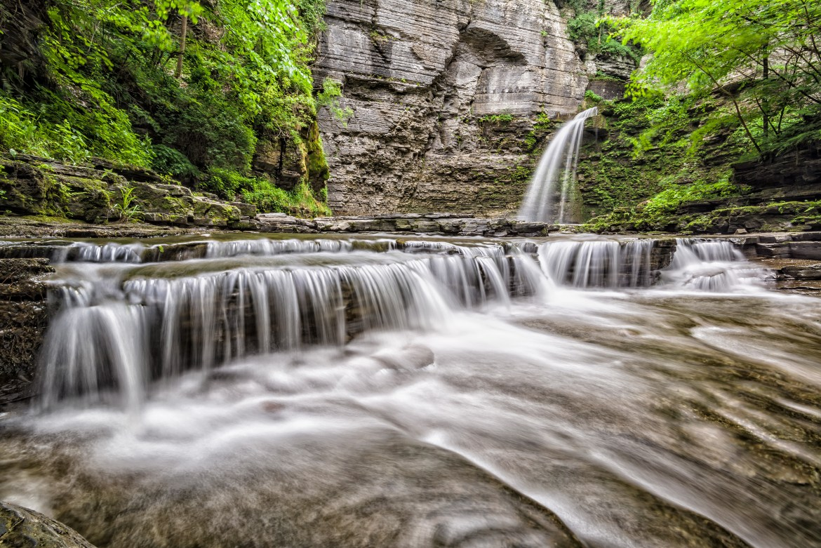 Montour Falls in Finger Lakes Conmisojos