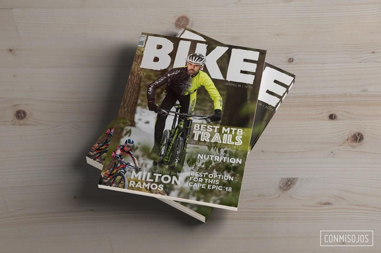 Diseño Editorial y Sesión de fotografia deportiva con Cabestrero Bikes- Diseño y fotos: Fernando Sánchez - Conmisojos - Portrait photo session in New York State