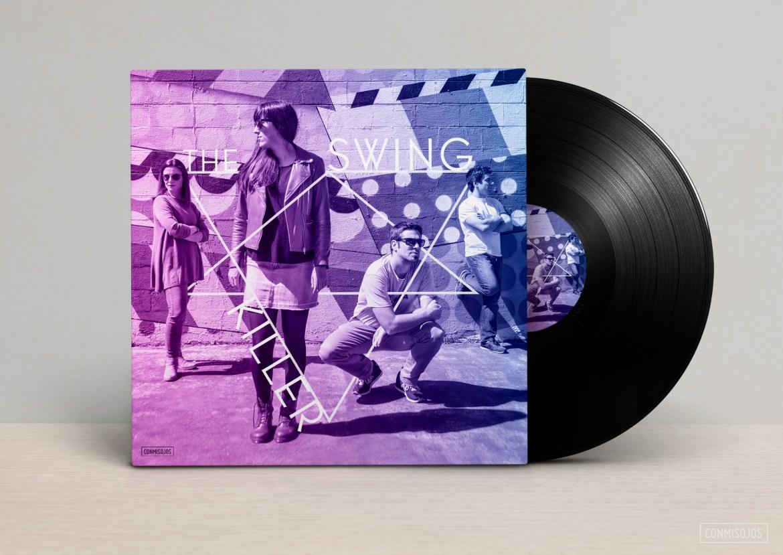 Diseño de portada y disco con banda de música en el barrio de Gulch en Nashville (USA) Diseño y fotos: Fernando Sánchez - Conmisojos