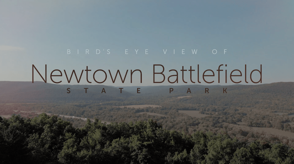 Video Newtown Battlefield State Park - Conmisojos - Dron