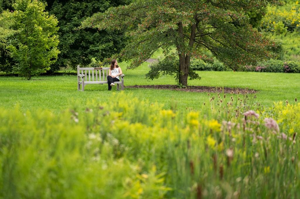 Newman Arboretum - Botanical Garden in Ithaca (NY -USA). Photography Conmisojos, Fernando Sanchez