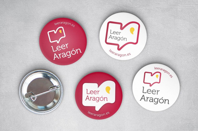Leer Aragon - desarrollo del diseño gráfico, logotipo y website por Fernando Sánchez Arribas, Conmisojos
