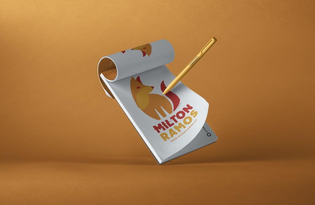 Diseño e ilustración para camiseta de Milton ramos