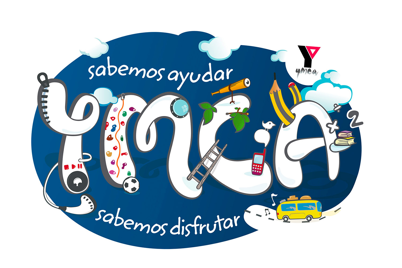 diseño e ilustracion de camiseta de YMCA