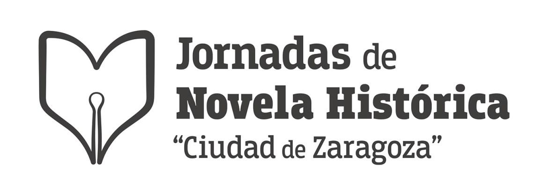 Logotipo para las I Jornadas de Novela Histórica Ciudad de Zaragoza