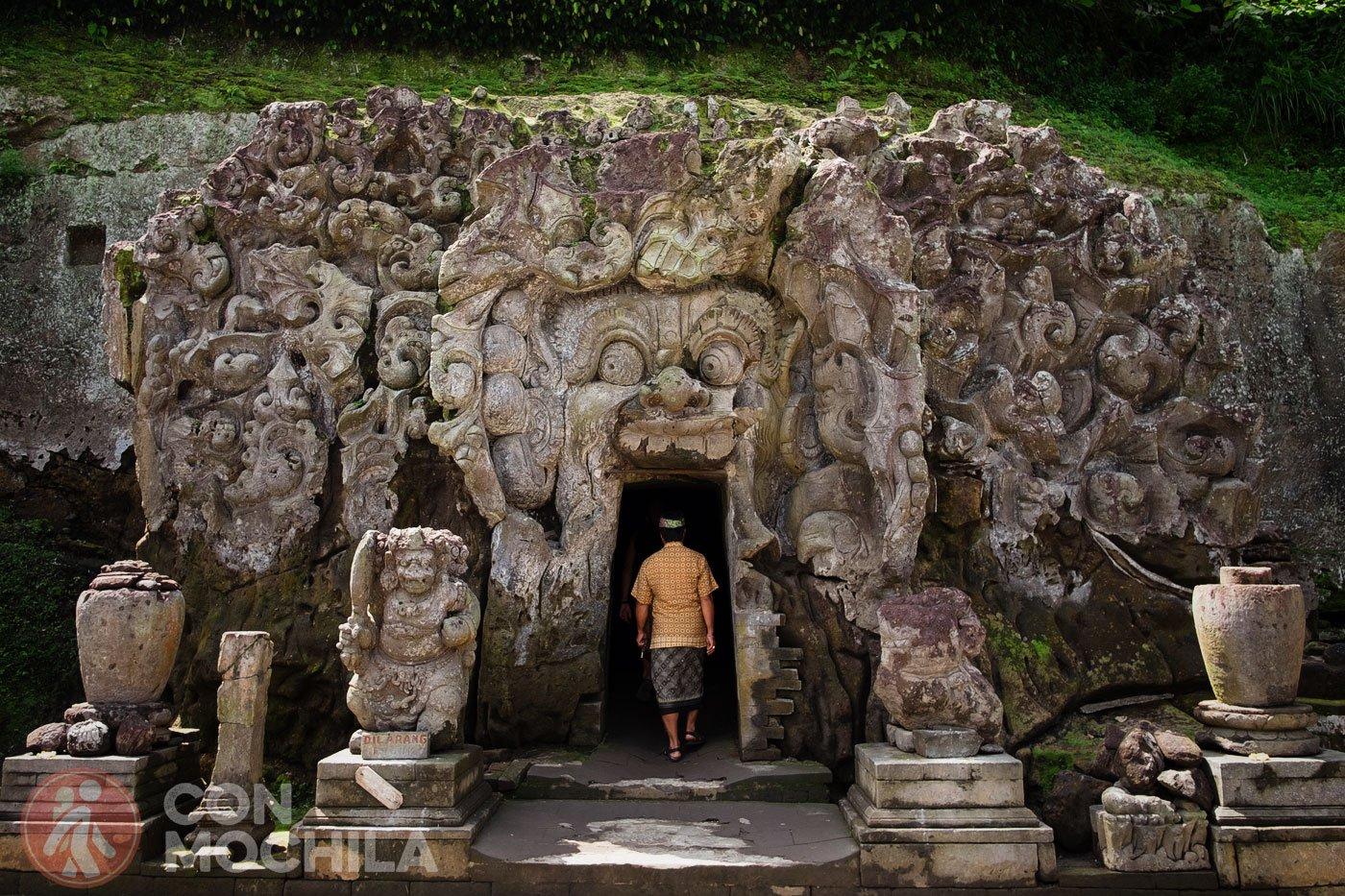 Goa Gajah o Cueva del Elefante el templo ms encantador de Bali