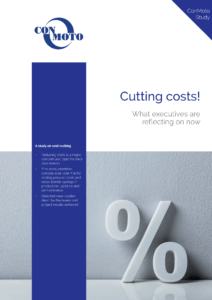 Curbing costs now: ConMoto's new cost reduction study