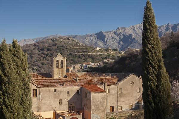 Le couvent de Marcassu à Cateri © MyPhotoAgency - Stéphanie Eveilleau