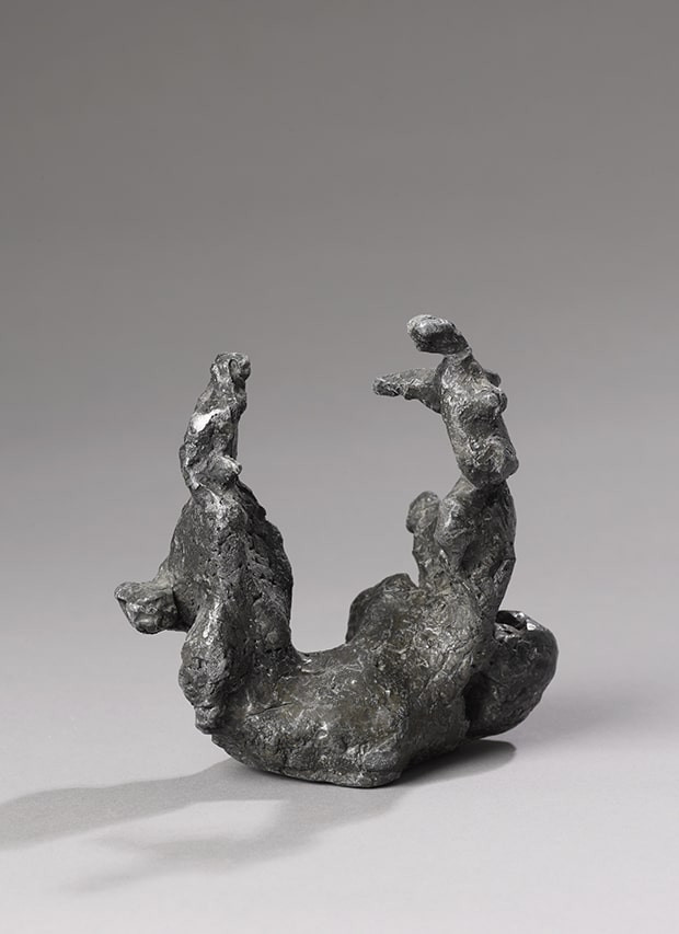 Alina Szapocznikow, Woltyžerka I (Gymnaste à cheval I), 1959, plomb, H. 14 cm ©The estate of Alina Szapocznikow/F. Gousset/Courtesy galerie Loevenbruck, Paris.