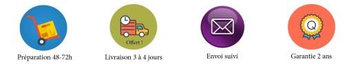 Bannière Info Livraison 48-72-GLS - 3 à 4 jours-offres-2 ans