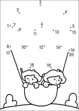 Easy dot to dot printable puzzles (page 10)
