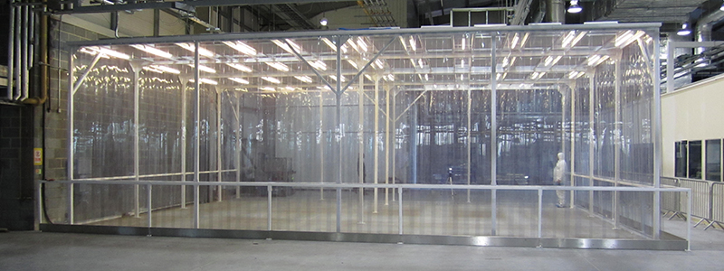 pvc curtain softwall cleanrooms