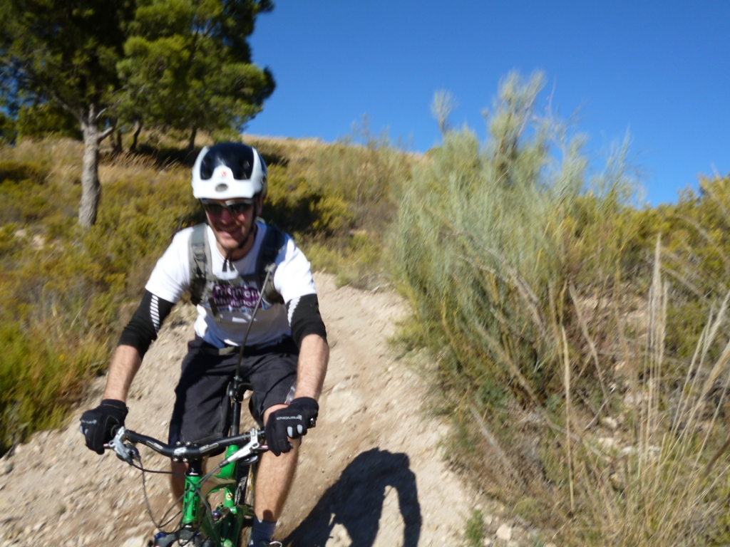 mountain cycling in Andalucia