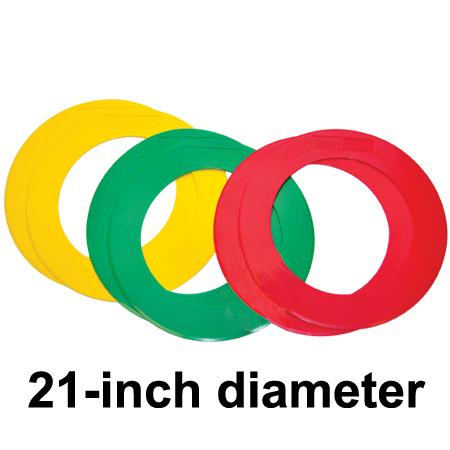 Oncourt Offcourt Big Feet Donuts (set of 6) 21 inch diameter