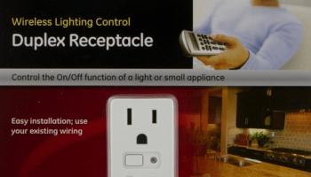 ge 45613 wave wireless lighting control. exellent wave ge wave wireless lighting control zwave control  duplex receptacle for ge 45613 wave wireless lighting control w