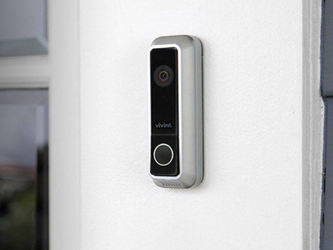 motion kitchen faucet curtains at target vivint doorbell camera with visitor detection - connected crib