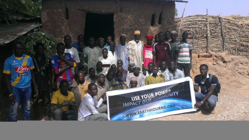 The Earth Hour Team in Gummi Local Government of Zamfara State