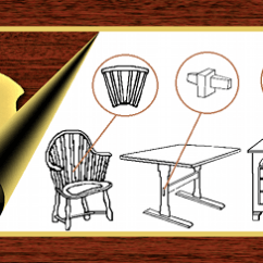 Early American Chair Styles Ikea Ergonomic Guide To Furniture From Connected Lines