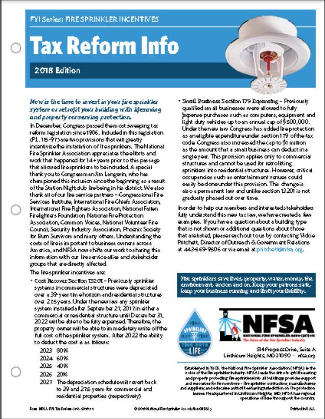 tax Reform Info