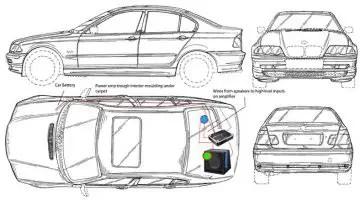 Car Audio System Bmw E46