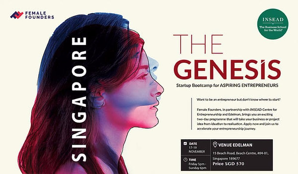 Genesis Startup Bootcamp – Singapore – November 17-19 (Event)