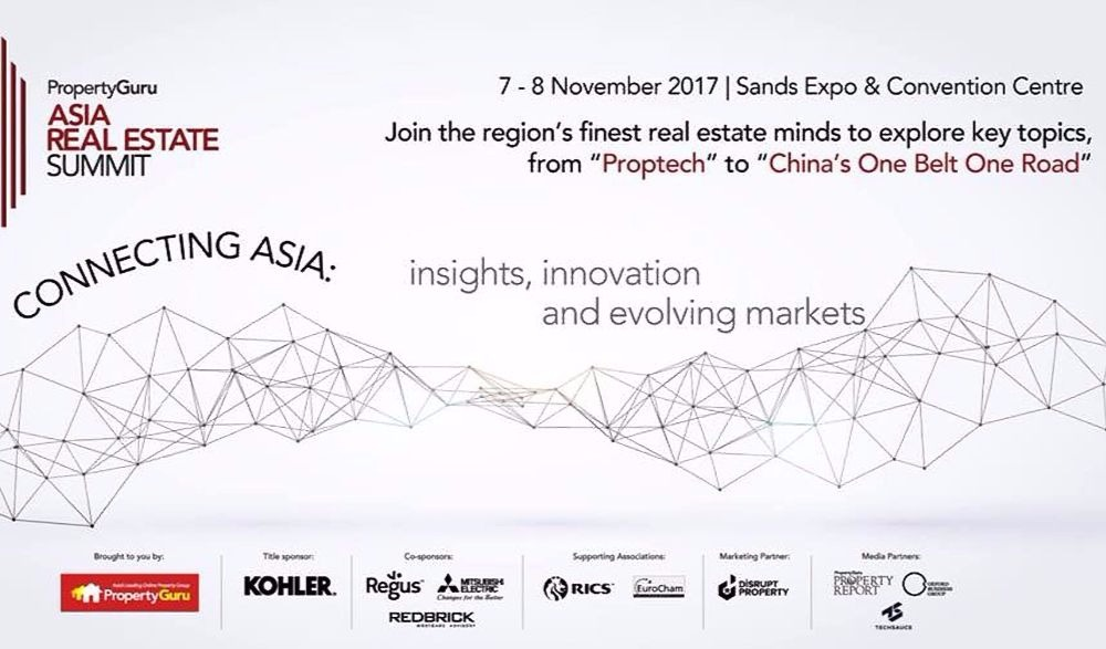 Asia Real Estate Summit - Singapore - November 7-8 (Event)