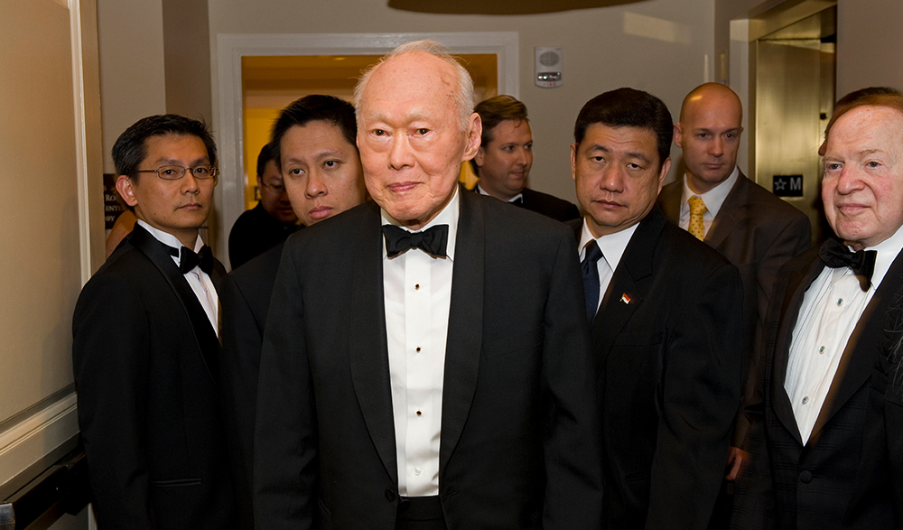 Entrepreneurial Lessons by Singapore's Lee Kuan Yew | Connected Women