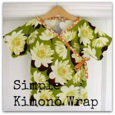 Simple Kimono Wrap