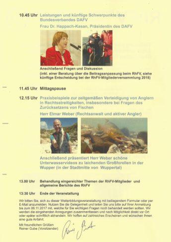 Informationsveranstaltung 2017