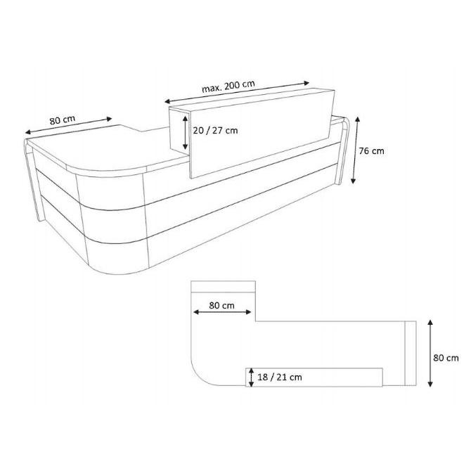 Circular Reception Desk Dimensions  Desk Ideas