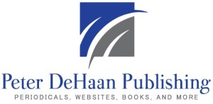 Peter DeHaan Publishing Inc, publisher of Connections Magazine