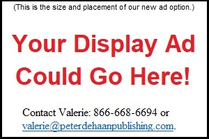 Display ad placement and size