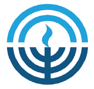 Jewish Federation menorah logo
