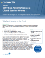 Why Fax Automation as a Cloud Service Works hipaa compliant