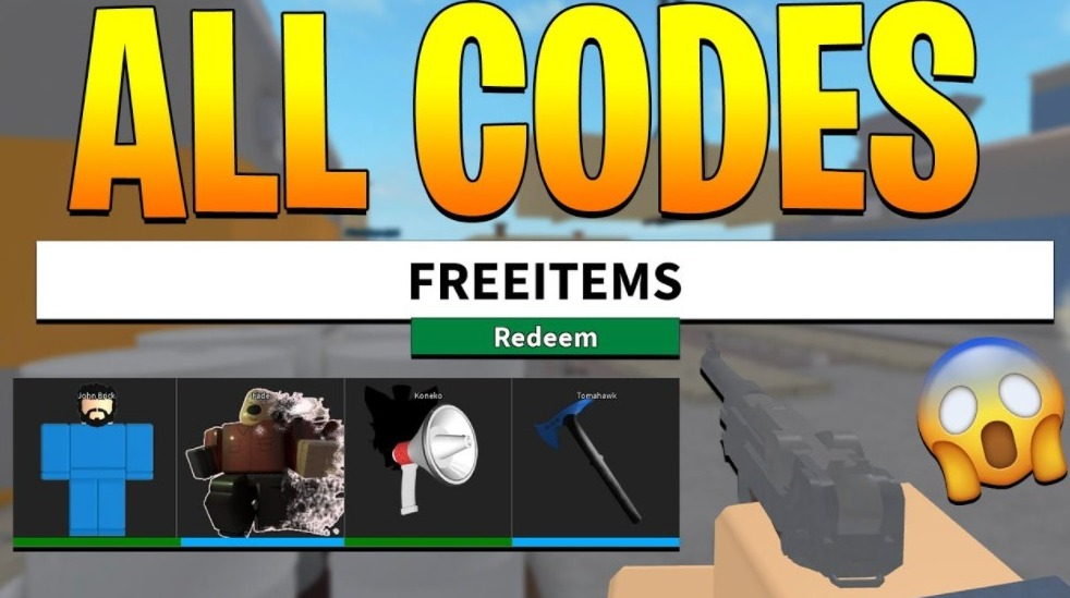roblox arsenal codes list for 2021