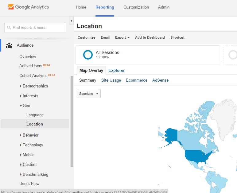 1Google Local Analytics Reporting Tab