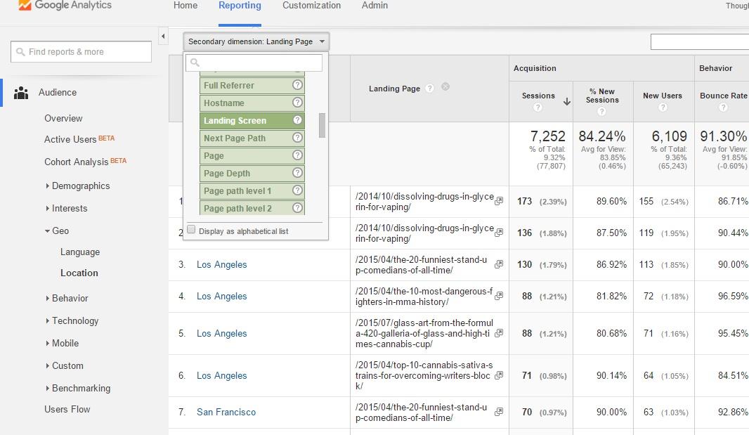 5Google Local Analytics Reporting Tab Secondary
