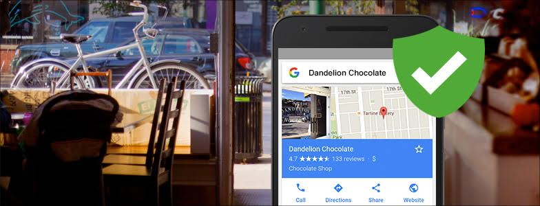 Verified Google My Business Listing on Mobile
