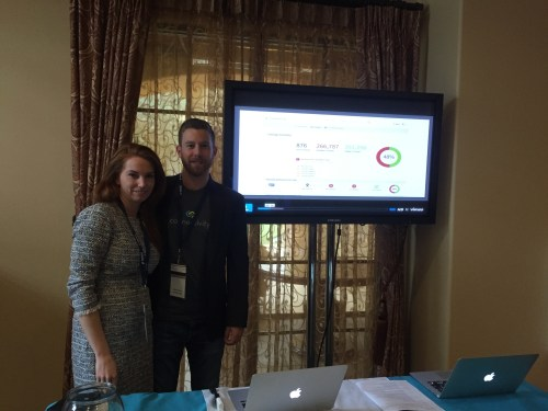 Connectivity's Dylan Lake and Alex Harris at the Multifamily Social Media Summit.