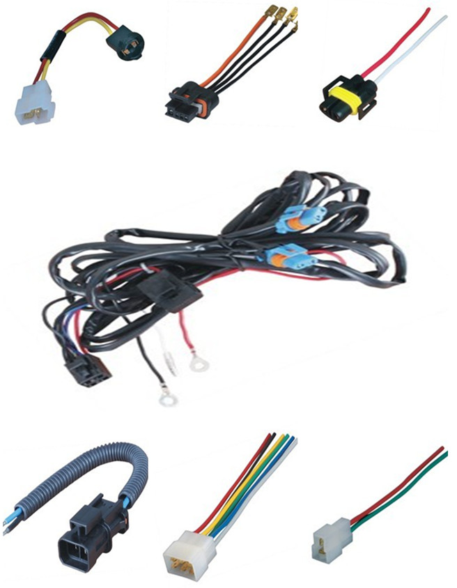 Auto Motorcycle Wire Harness Parts Automotive Wiring Harness