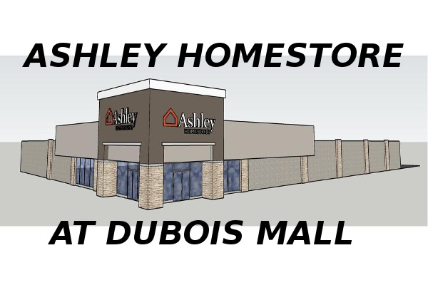 Ashley HomeStore DuBois Rendering small