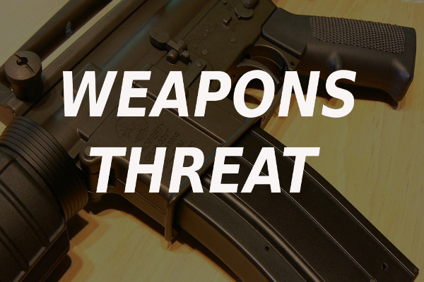weapons threat