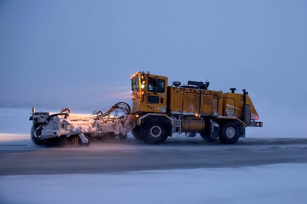 plow truck snow