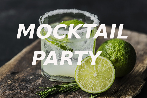 mocktail party alcohol