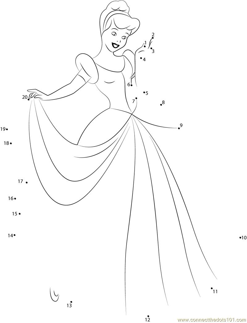 Cinderella Printable Kindergarten Worksheets. Cinderella