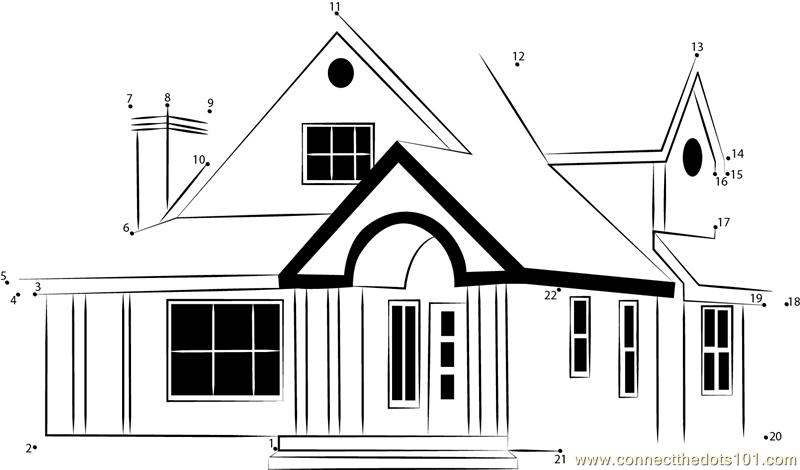 Home design plans indian style dot to dot printable