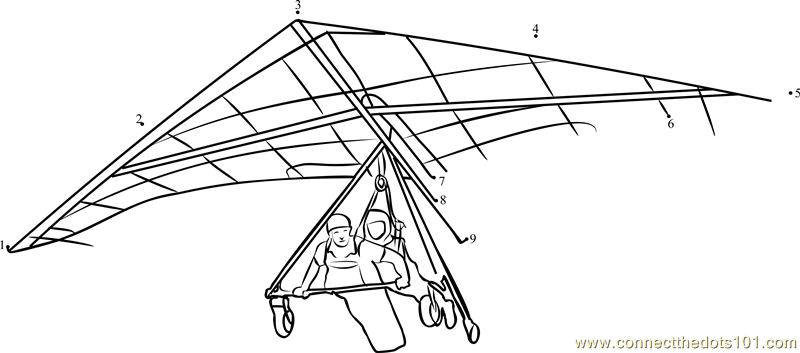 Fun and Exciting Switzerland Hang Gliding dot to dot