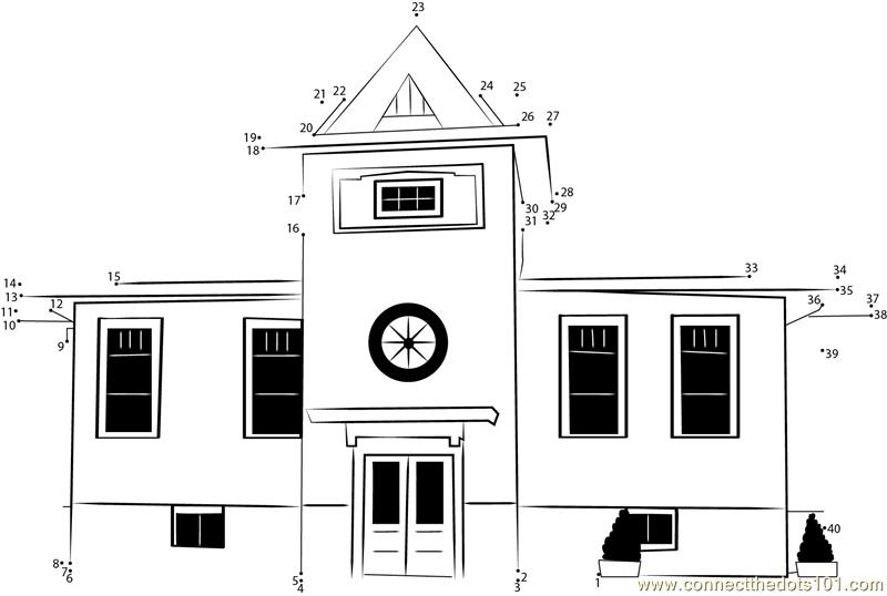 Connect the Dots Bellevue Oregon School (Architecture
